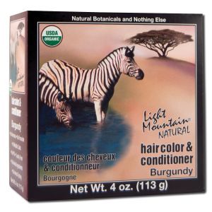 Natural Hair Color and Conditioner Burgundy