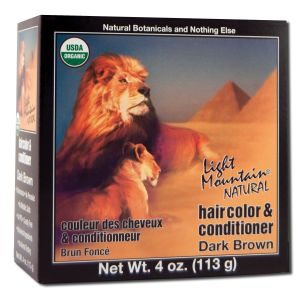 Natural Hair Color and Conditioner Dark Brown