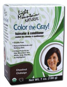 Color the Gray Natural Haircolor and Conditioner Chestnut