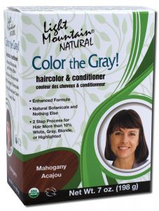 Color the Gray Natural Haircolor and Conditioner Mahogany