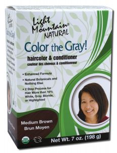 Color the Gray Natural Haircolor and Conditioner Medium Brown