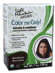 Color the Gray Natural Haircolor and Conditioner Dark Brown