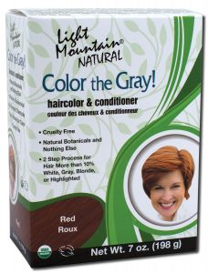 Color the Gray Natural Haircolor and Conditioner Red