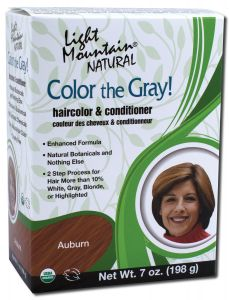 Color the Gray Natural Haircolor and Conditioner Auburn