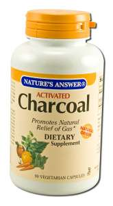 Dietary Supplements Charcoal (Activated) 90 softgels