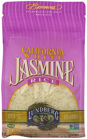 Lundberg California White Jasmine Rice - 32 Ounce