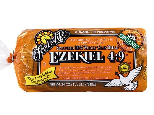 Food for Life, Ezekiel 4:9 Bread, Original Sprouted, Organic, 24oz