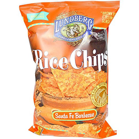Lundberg Rice Chips Santa Fe Barbecue