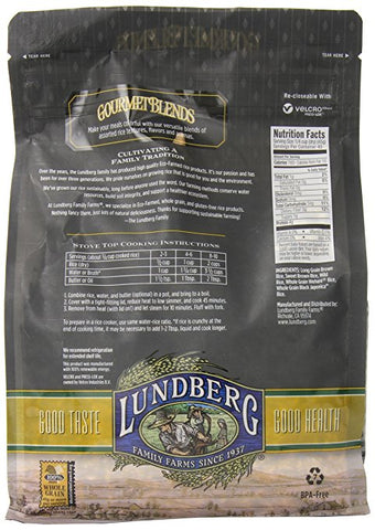Lundberg Wild Grain Brown Rice - 4 Lbs