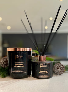 *XMAS EDITION SOY CANDLE & REED DIFFUSER PK* - Various fragrances....