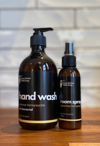 Hand soap & Room spray pk - Japanese Honeysuckle