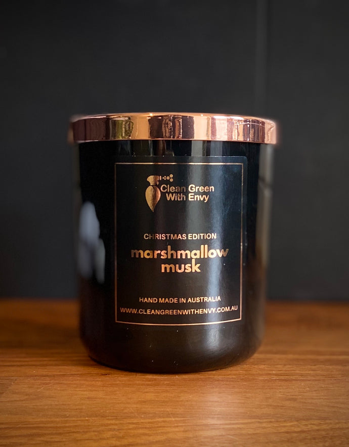 *XMAS EDITION SOY CANDLE XL*  Marshmallow musk