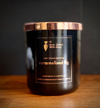 Load image into Gallery viewer, Xmas edition soy candle XL - caramelised fig