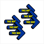 Copy of Directional Floor Arrow - Set of 6