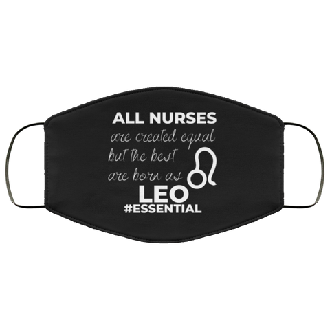 Leo Nurse #Essential Face Mask