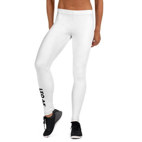Leo AF Leggings (Vertical Calf Design) - ZodiActiveLife