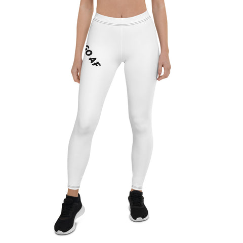 Virgo AF Leggings (Wraparound Hip Design) - ZodiActiveLife