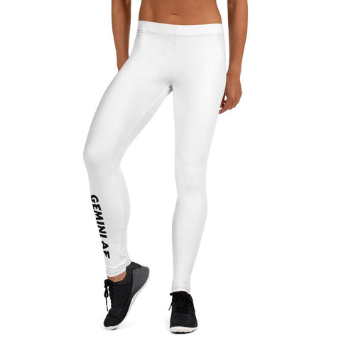 Gemini AF Leggings (Vertical Calf Design) - ZodiActiveLife