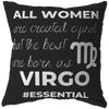 The Best Women Are Born Virgos Pillow - ZodiActiveLife