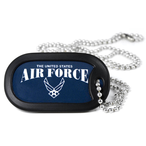 U.S. Air Force Metal Dog Tag Necklace