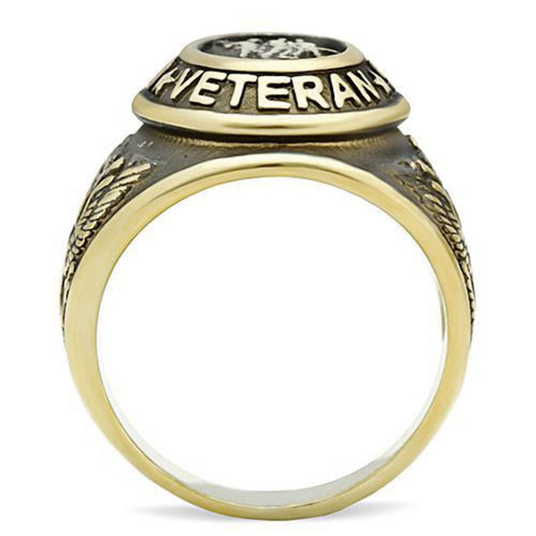 Gold United States Veterans Ring