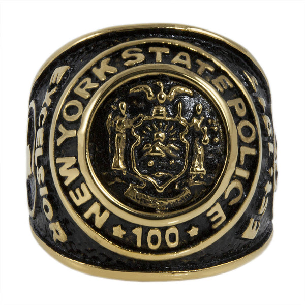 New York State Police Ring