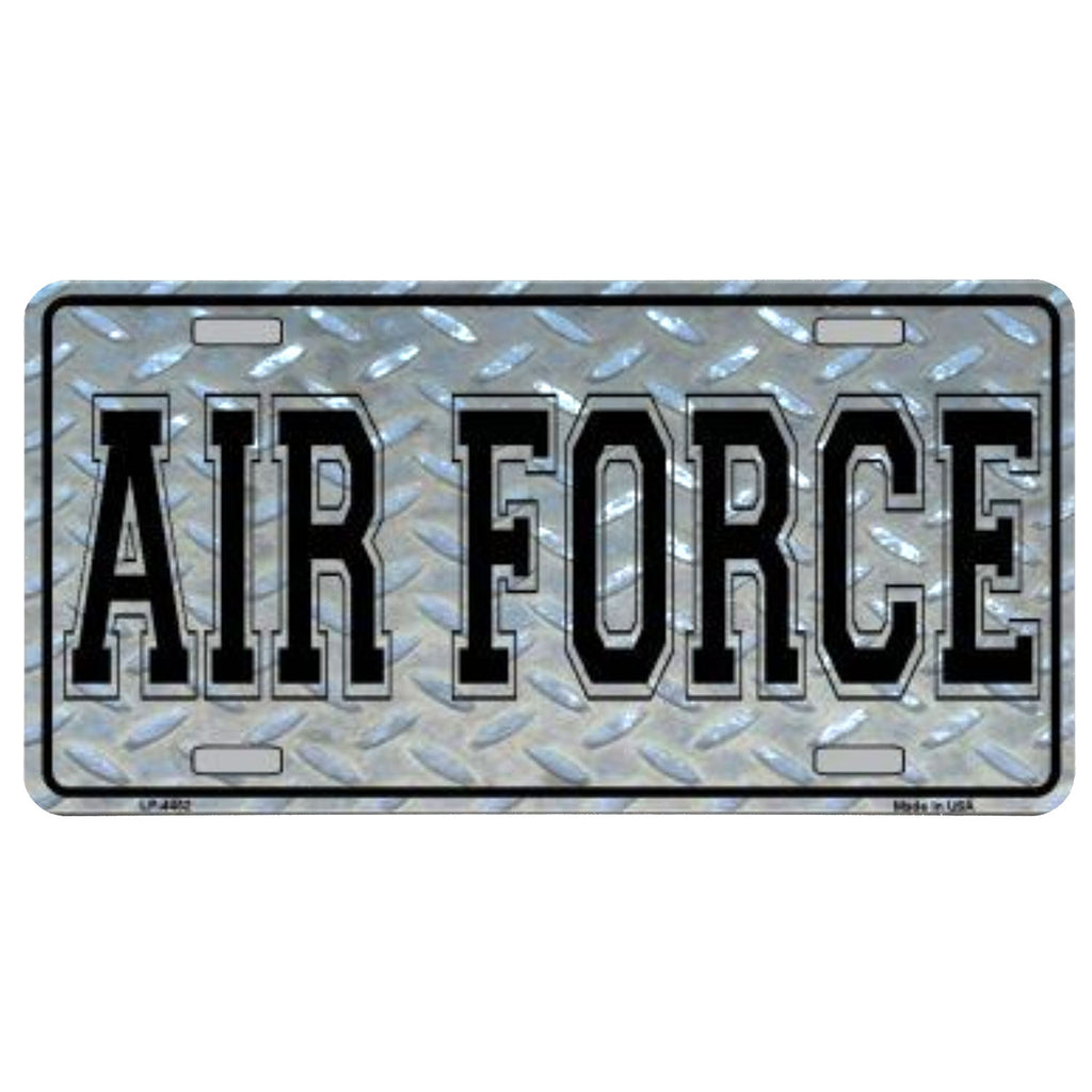 Air Force Vanity Plate