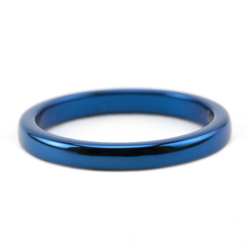 Thin Blue Line 2mm Ring