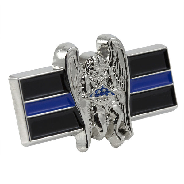 Thin Blue Line LEO Memorial Pin
