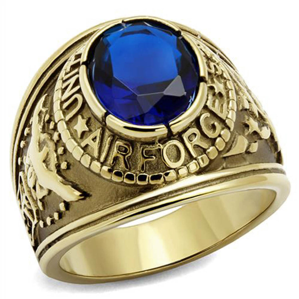 US Air Force Gold Ring