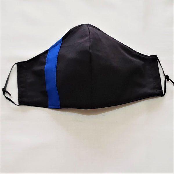 First Responder Mask USA Made Cotton 2 Layer Washable Reusable Adjustable Nose and Elastic