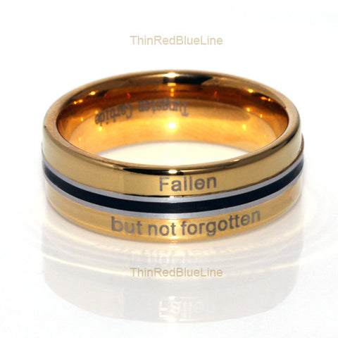 Fallen but not forgotten ring