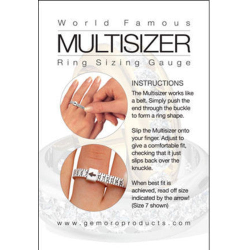 Multisizer ring sizing tool
