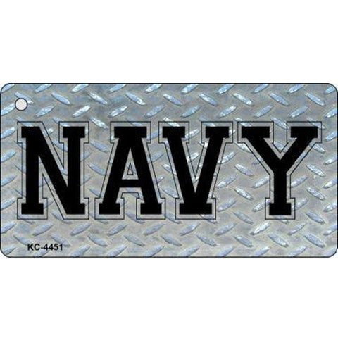 Navy Military Key Chain