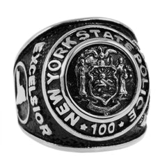 New York State Police 100th Anniversary Ring