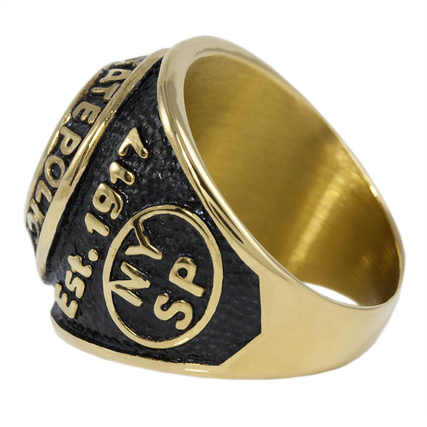 Police New York Ring