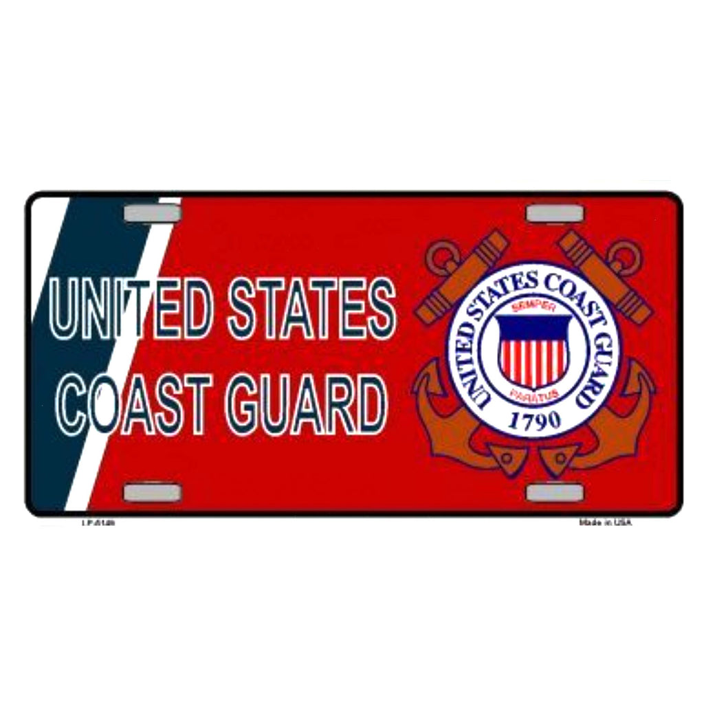 US Coast Guard Vanity Plate