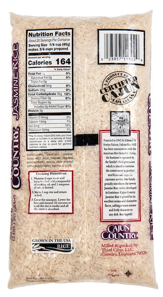 Cajun Country Long-Grain Jasmine Rice
