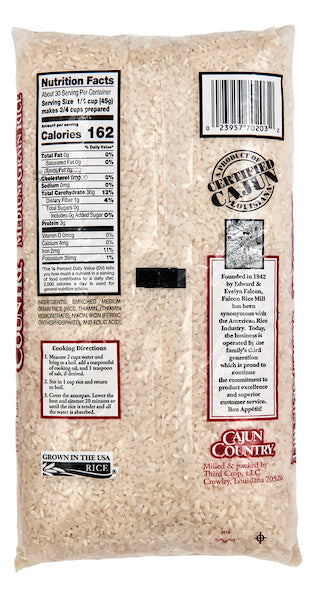 Cajun Country Medium-Grain Rice