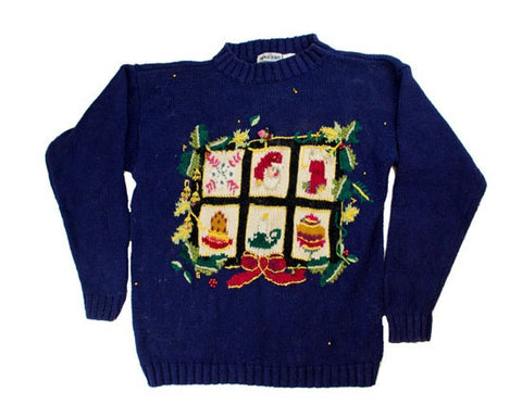 Holiday Squares-X-Small Christmas Sweater