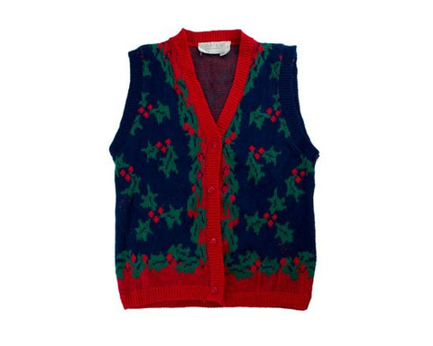 Holly Accents-X-Small Christmas Sweater