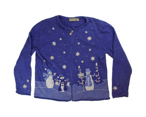 Blue Christmas-Small Christmas Sweater