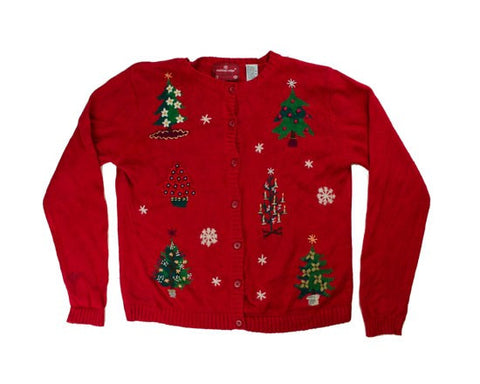 Trim Up The Tree-Small Christmas Sweater