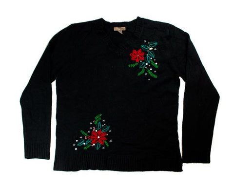 Little Stitching-Medium Christmas Sweater