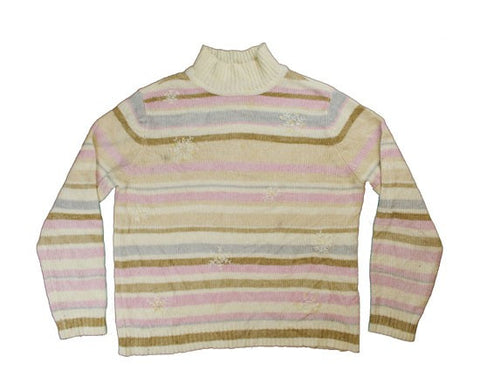 Neapolitan Stripes-Small Christmas Sweater