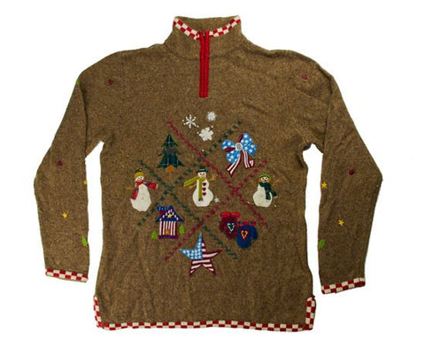 Stars And Stripes-Small Christmas Sweater