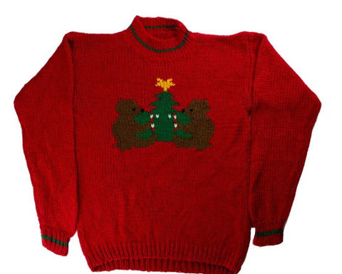 The Gift Of Candy-X-Small Christmas Sweater