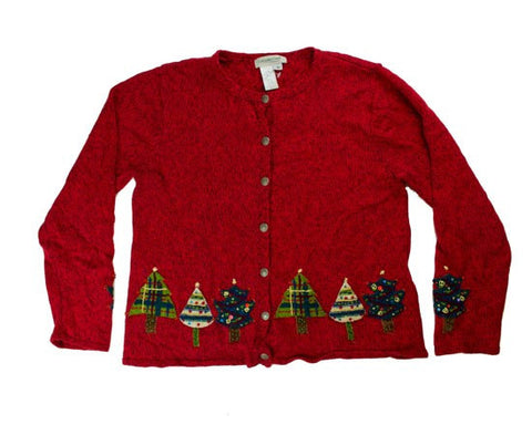 Tree Border-Medium Christmas Sweater
