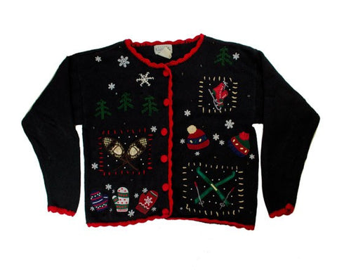 Outdoor Games-Small Christmas Sweater