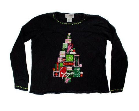 Gift Tree-Medium Christmas Sweater